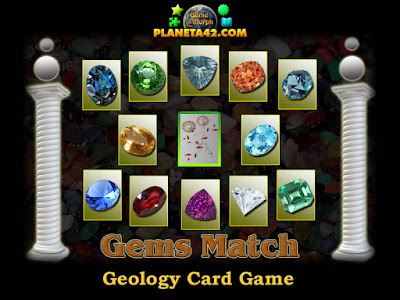 Gemstones Match Game