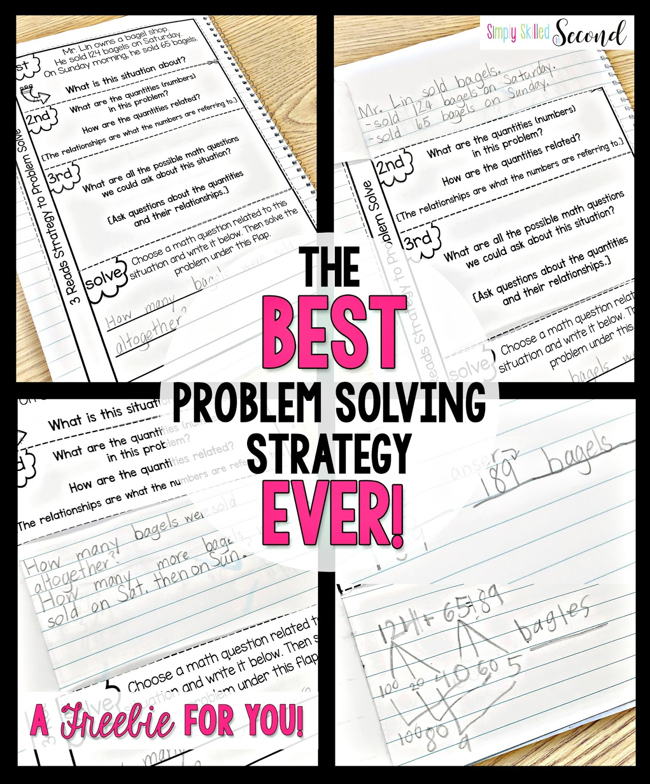 The BEST Problem Solving Strategy EVER! - Simply Skilled in Second