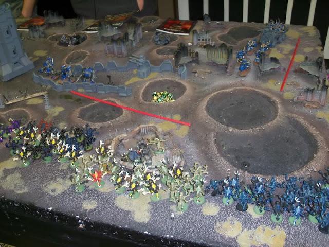 Warhammer 40,000 Tyranids Orks Planetstrike