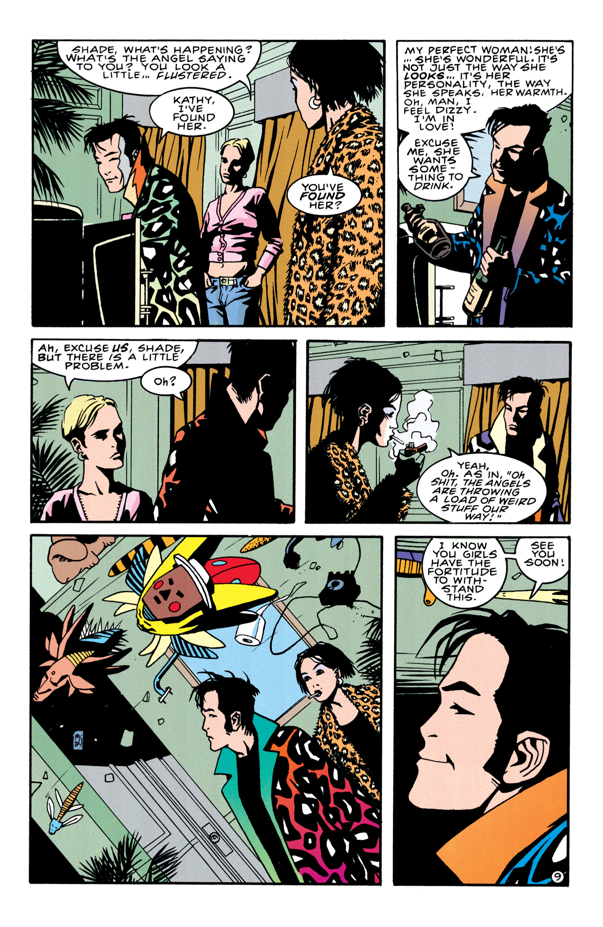 Read online Shade, the Changing Man comic -  Issue #41 - 10