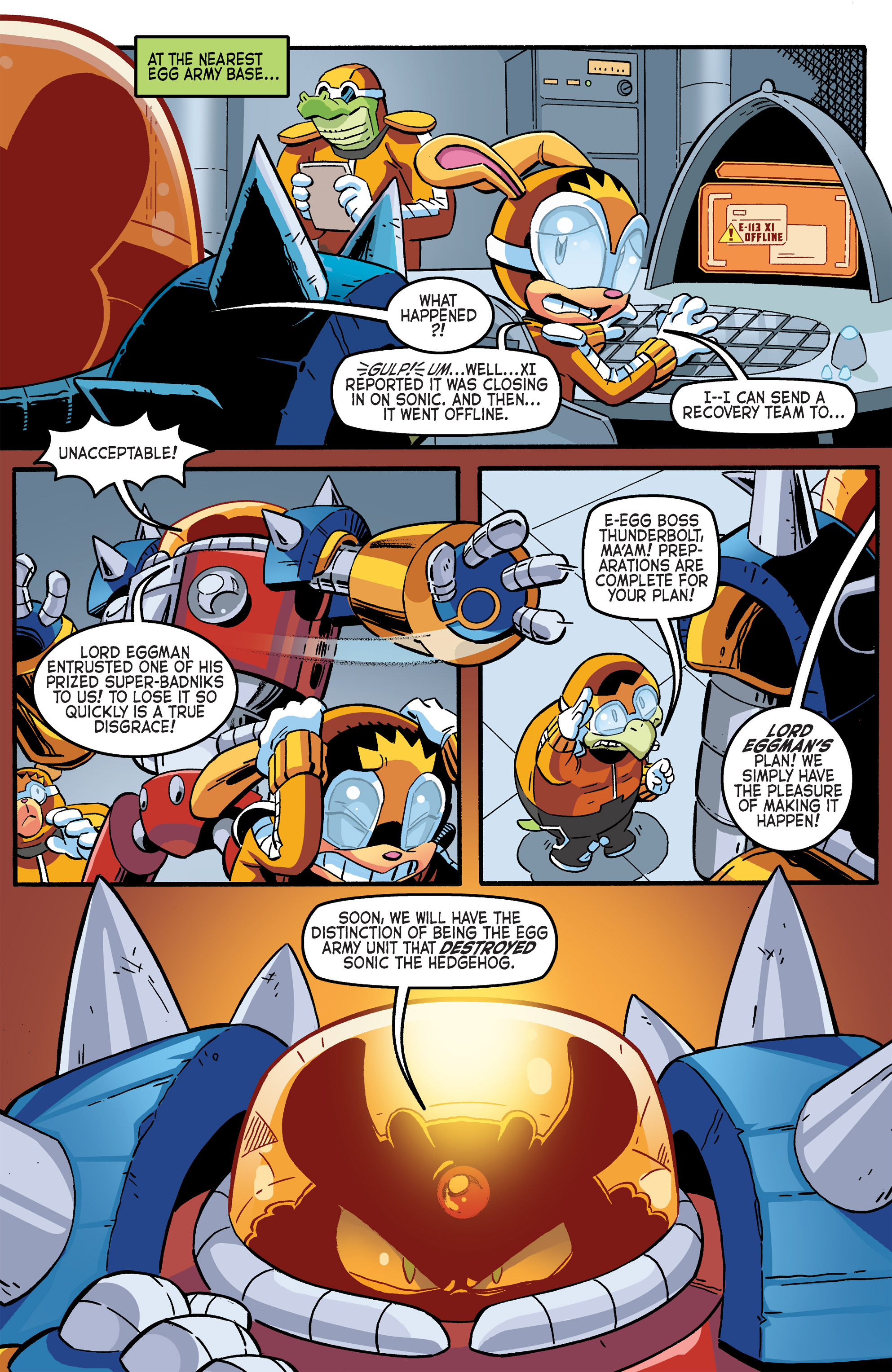 Read online Sonic The Hedgehog comic -  Issue #264 - 7