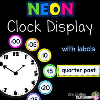 Image of clock labeling resource.