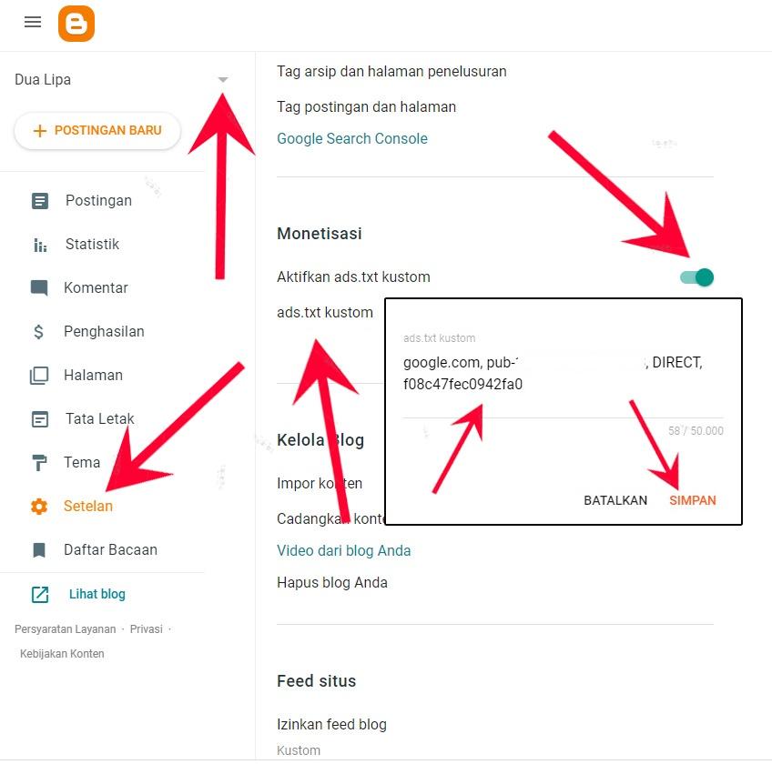 Cara Memperbaiki Peringatan Ads Txt  Blog