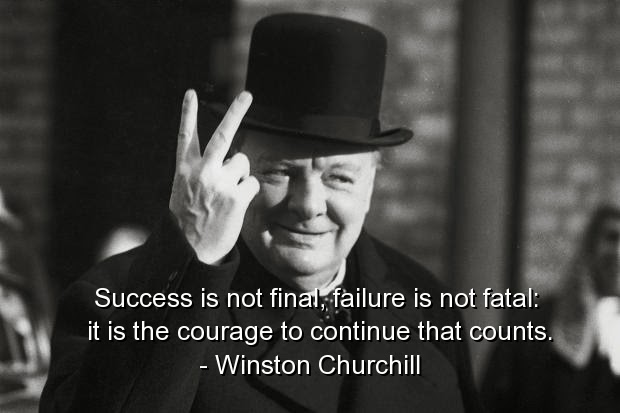 Happy Fathers Day Quotes Wallpaper Courage Winston Churchill Quotes Quotesgram