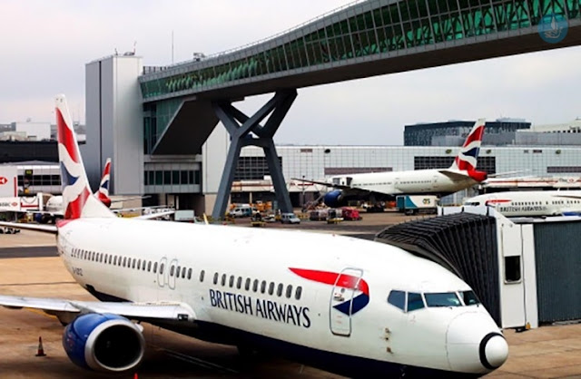 Ακυρώθηκαν όλες οι πτήσεις των βρετανικών αερογραμμών