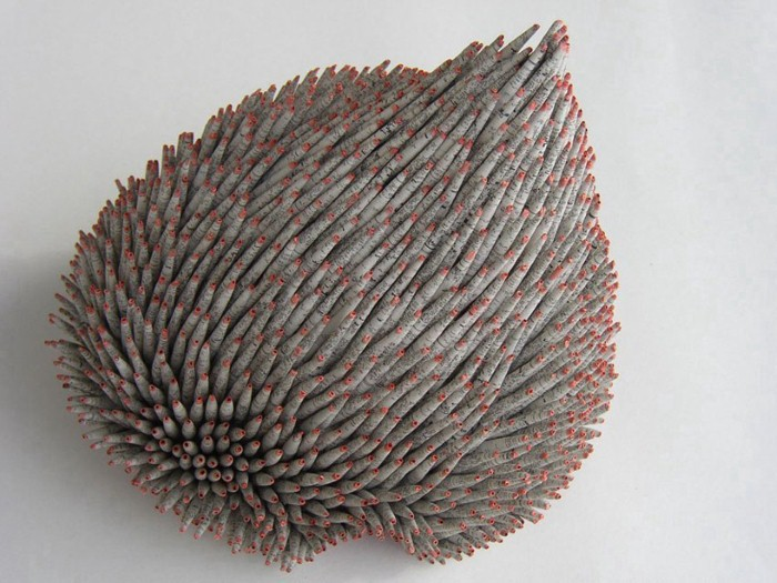 Скульптуры из отходов от Valerie Buess 11