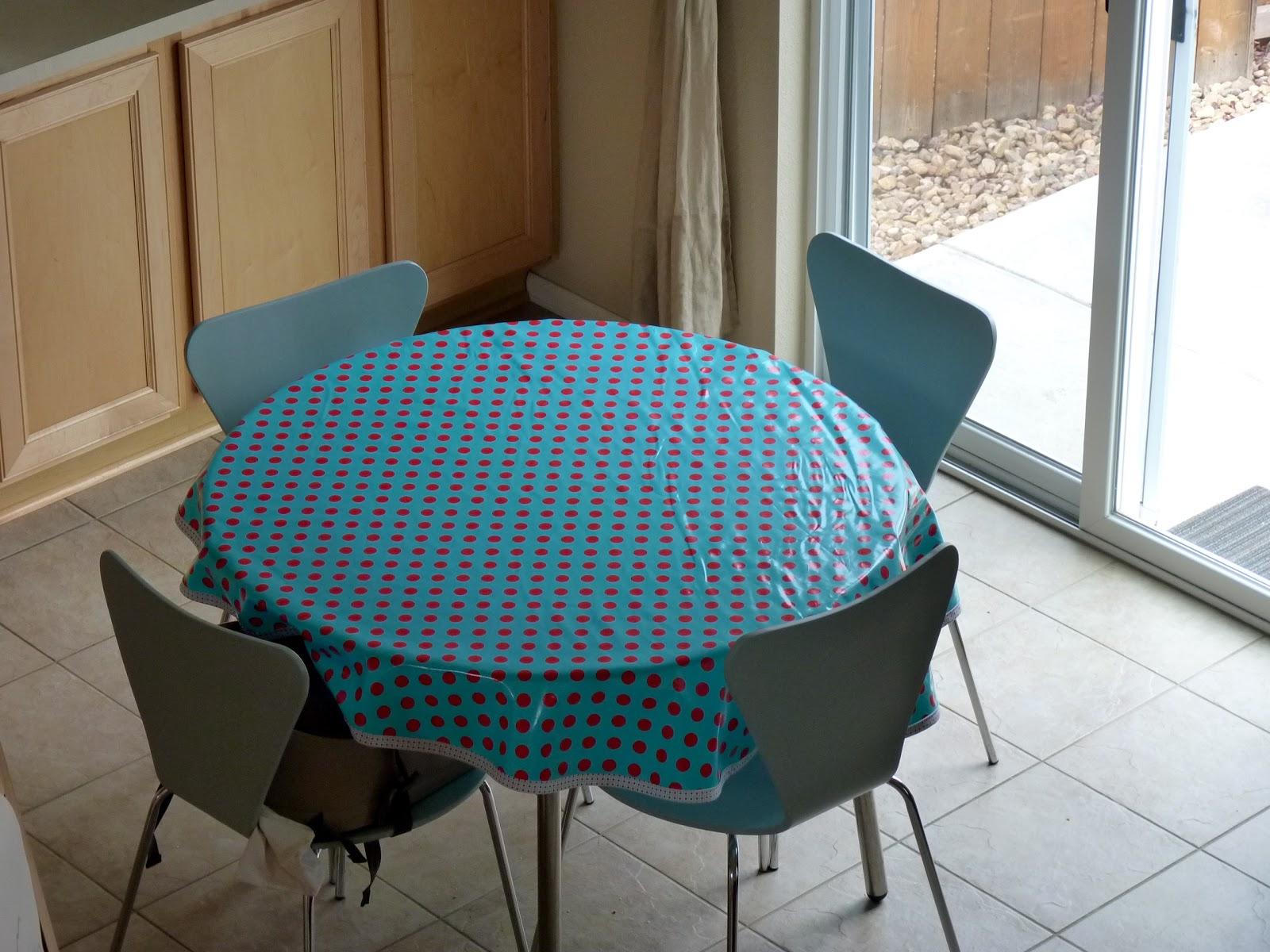 passion4creations home decor comment faire une nappe pour table ronde. Black Bedroom Furniture Sets. Home Design Ideas