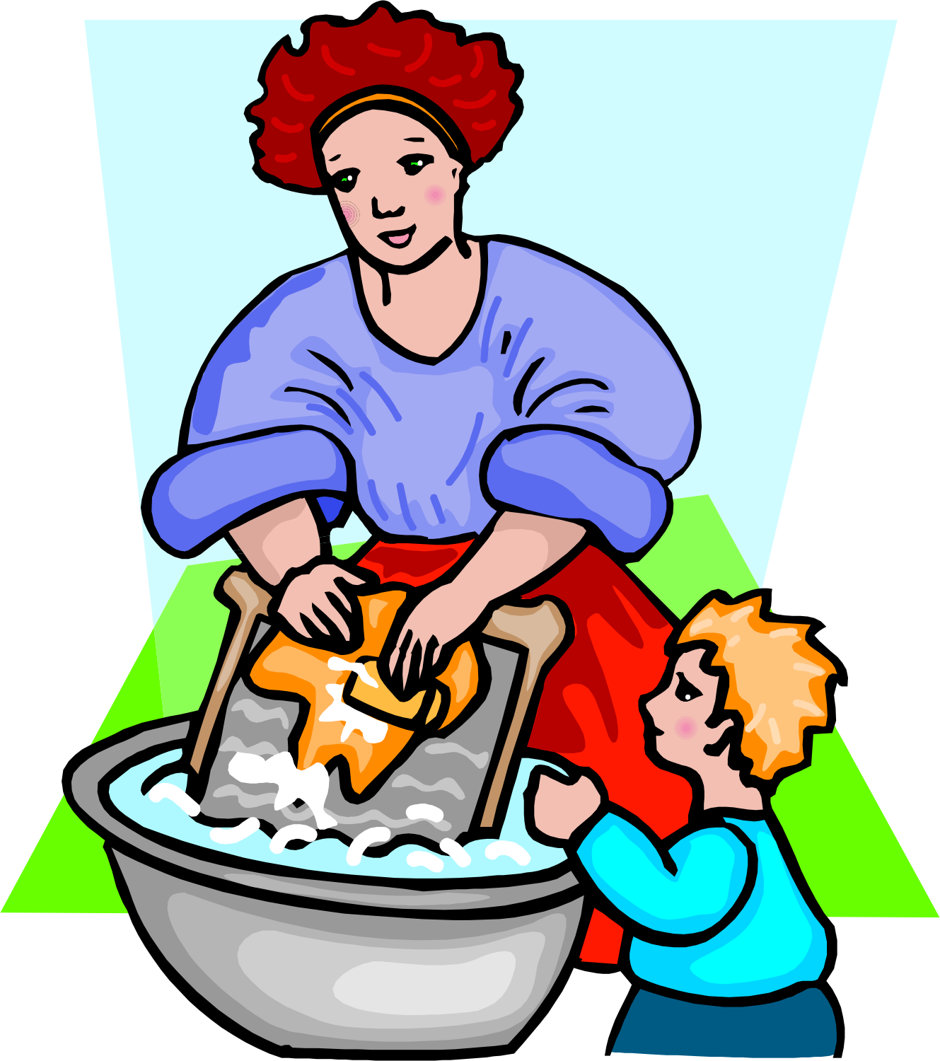 Put Away Clothes In Spanish ~ Laundry vocabulary with pictures english learn
