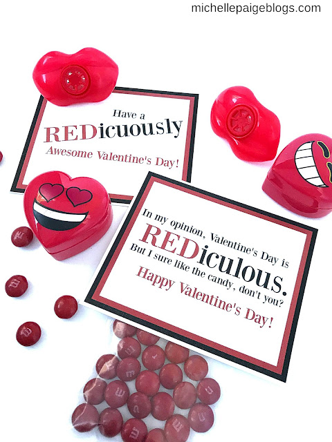 RED-iculously Awesome Valentine Printables@michellepaigeblogs.com