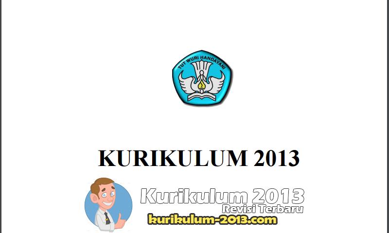 Download Kurikulum 2013 untuk SD - Kurikulum 2013 SD