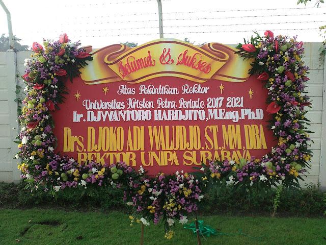karangan bunga papan di surabaya, papan bunga murah surabaya, bunga papan digital printing surabaya