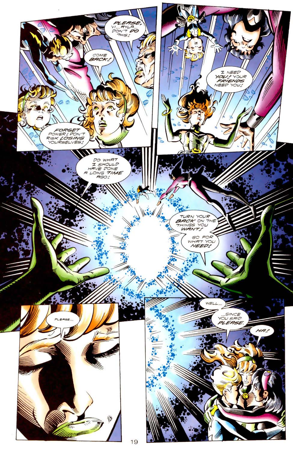 Legion of Super-Heroes (1989) 113 Page 18