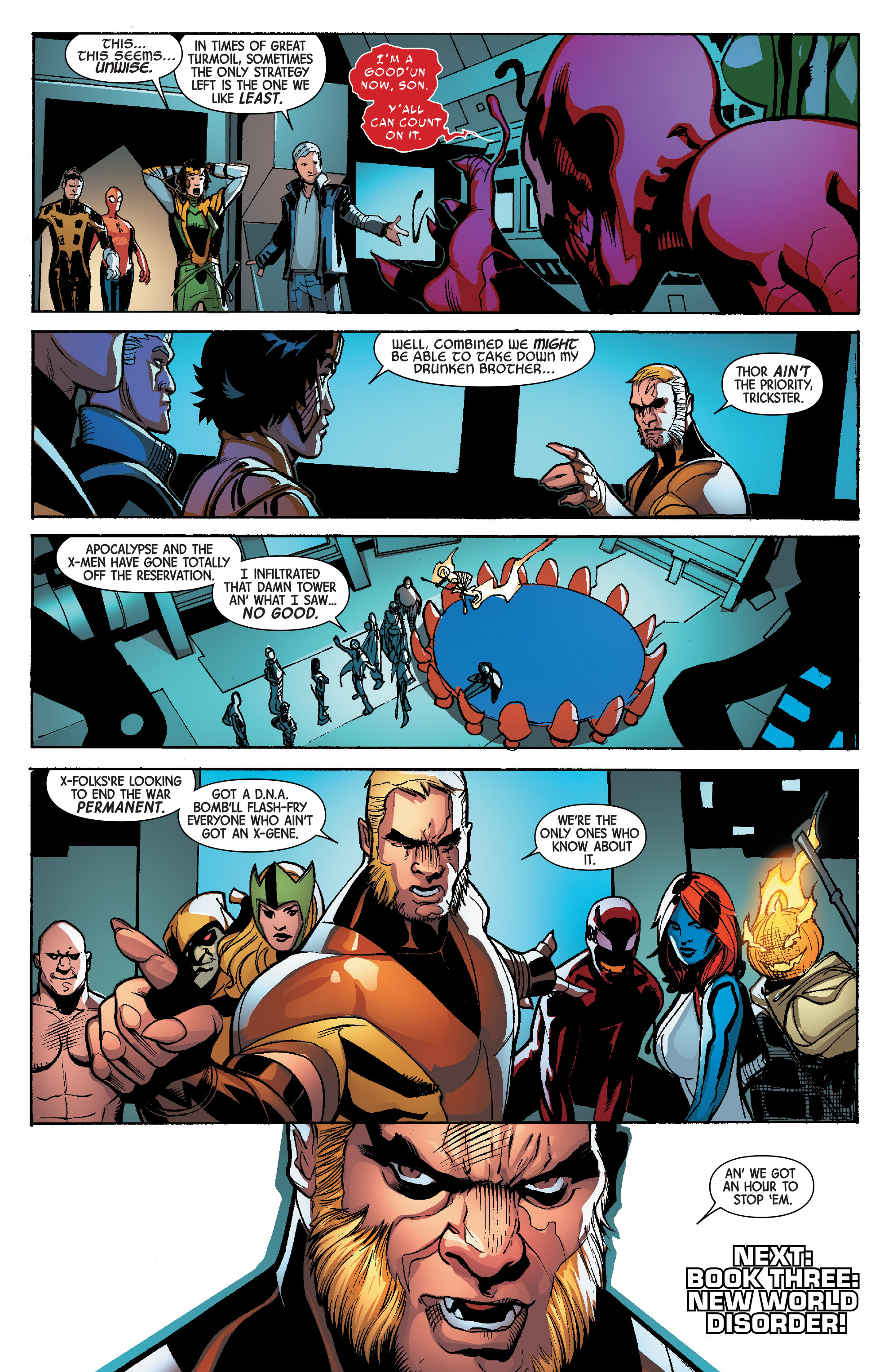 Read online Avengers & X-Men: AXIS comic -  Issue #6 - 25