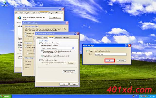 Tutorial Lengkap Setting VPN Server di Windows XP