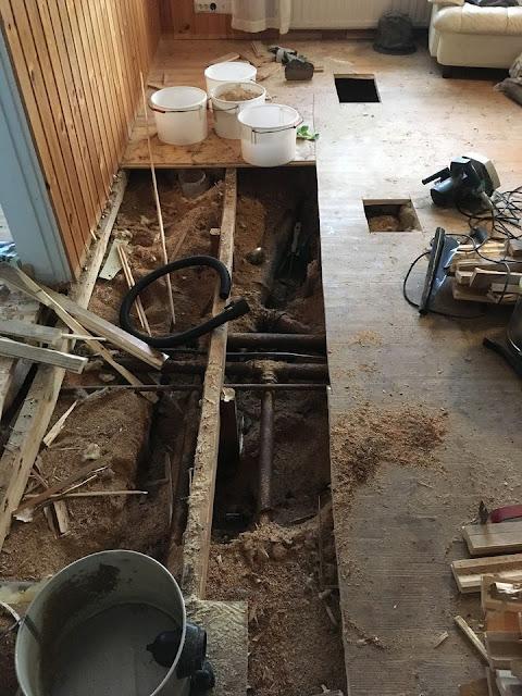 Talo halusi päättää remonttijärjestyksen