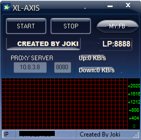 Axis squid proxy, Inject Axis terbaru