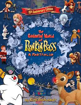 AVAILABLE NOW!  Huge coffee table book with lots of color :)  4 Pounds of RANKIN/BASS!