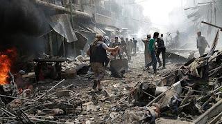 La Coalition internationale détruit toute chose en Syrie