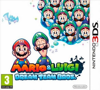 Mario y Luigi Dream Team Bros, 3DS, Español, Mega, Mediafire