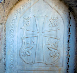 κρήνη στο μοναστήρι του αγίου Διονυσίου στον Όλυμπο