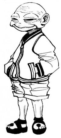 Maha adalah keluarga tertua di Zoldyck dan satu-satunya pengguna nen Kyoka
