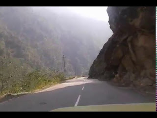 Chungthang to Mangan Road in North Sikkim