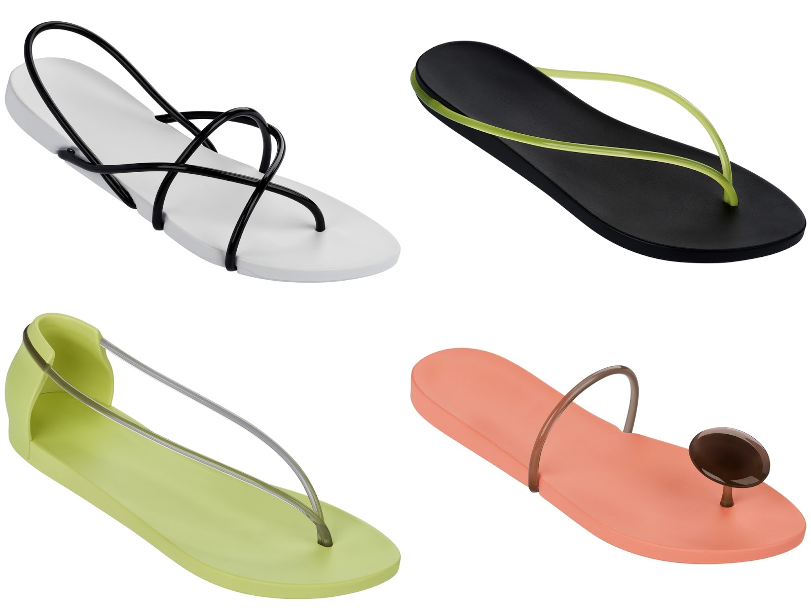 062ee925962e The Ipanema with STARCK Collection boasts four distinct flat sandal  designs  Thing M Fem Sandals