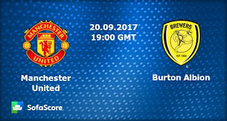 Manchester United vs Burton - Piala Liga Inggris Rabu 20 September 2017
