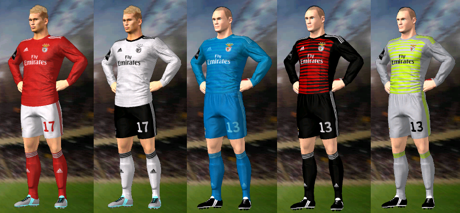 Kits/Uniformes Benfica