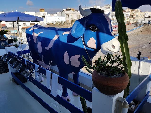 Ristorante La vaca azul a El Cotillo-Fuerteventura