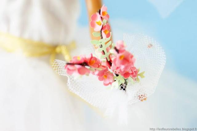 Challenge Dolls Couture & Diy bouquet de fleurs