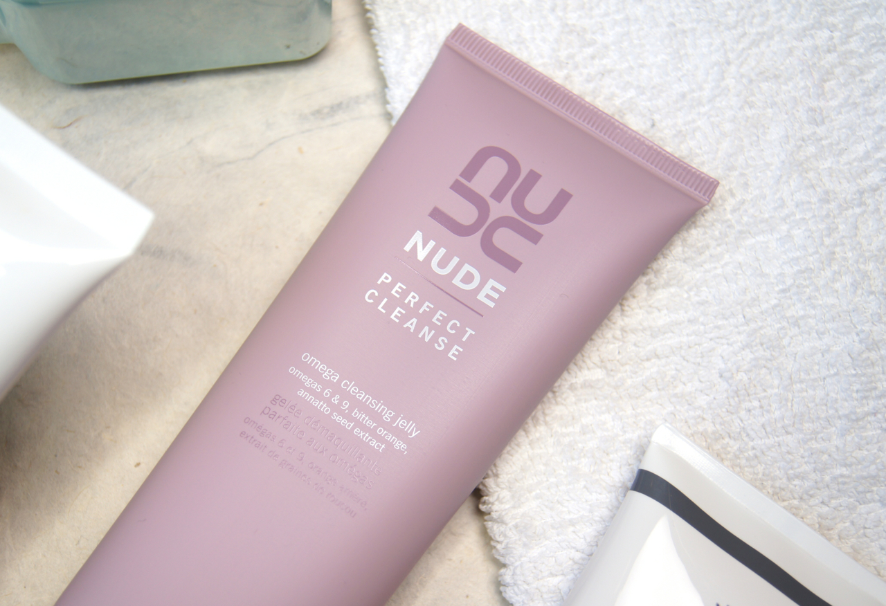 nude perfect cleanse omega cleansing jelly review gel to milk formula