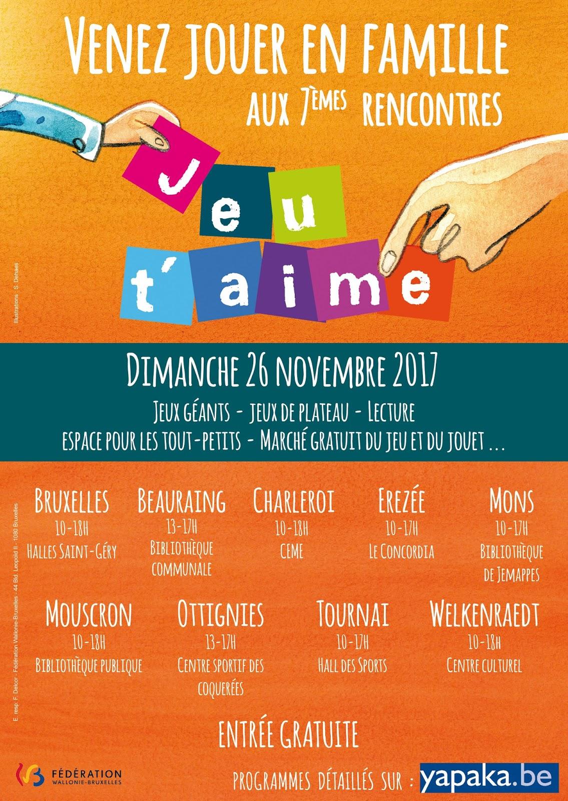 Rendez-vous Jeu t'aime – Un projet coordonné par lentracte-gerland.fr