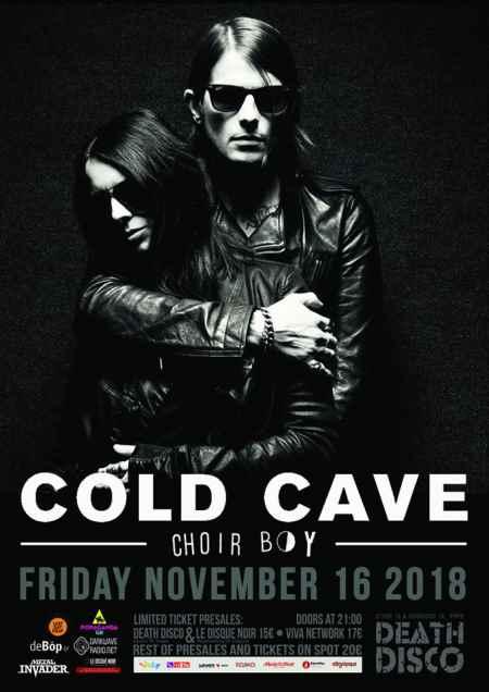 COLD CAVE, CHOIR BOY: Παρασκευή 16 Νοεμβρίου @ Death Disco