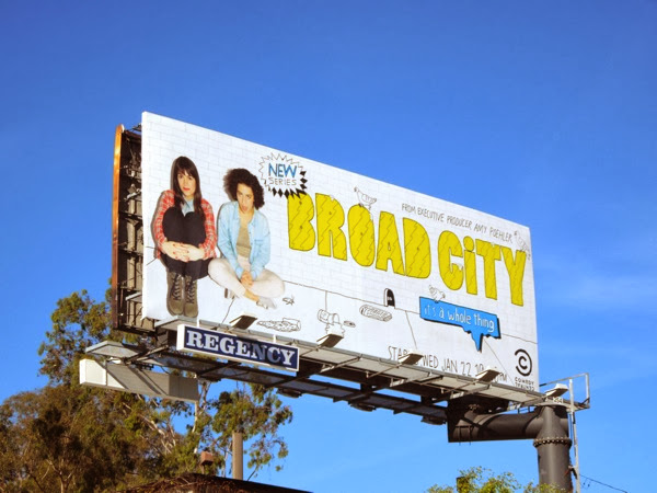 Broad City series 1 billboard