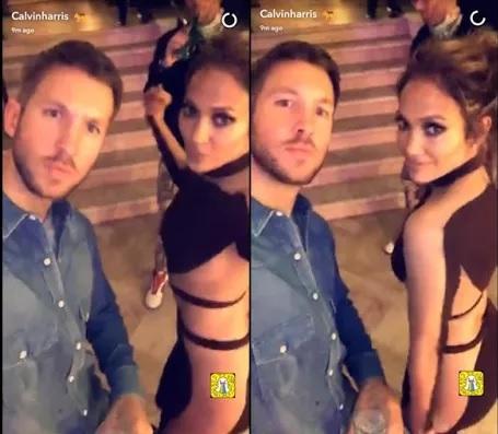 Calvin Harris is secretly dating Jennifer Lopez?