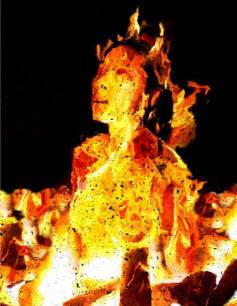 Emmanuel Jude aunt IN HELL FIRE