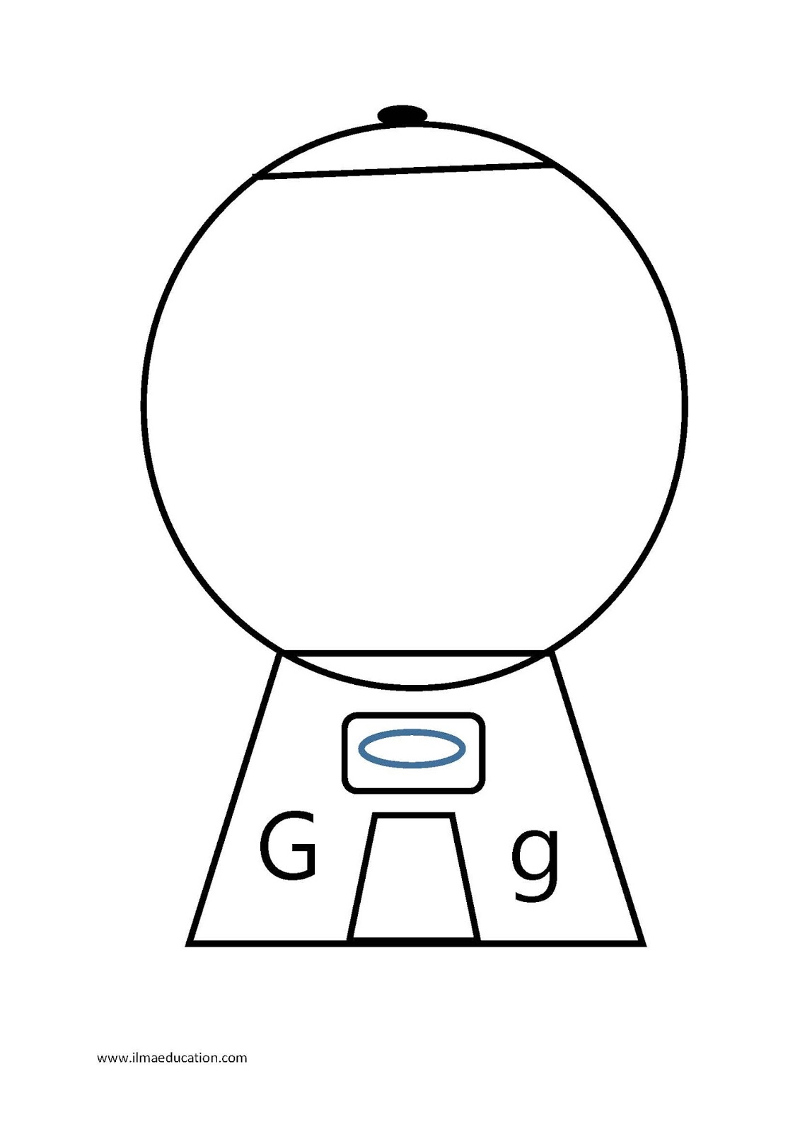 Ilma Education Letter Of The Week G For Gumballs