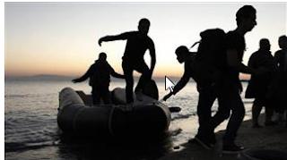 dokuz mülteci boğuldu