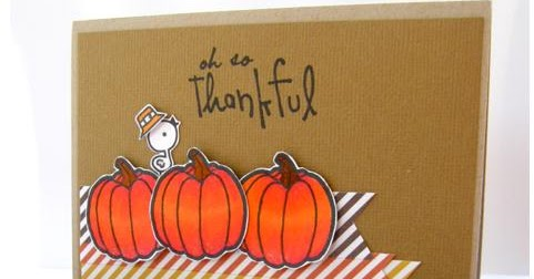 Kuretake Uk Blog Thanksgiving Craft Ideas