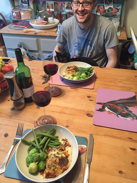 charlie bigham's ready meal moussaka