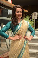 Tejaswi Madivada looks super cute in Saree at V care fund raising event COLORS ~  Exclusive 108.JPG