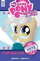 MLP IDW Friendship is Magic #46 Comic Main Cover by Agnes Garbowska