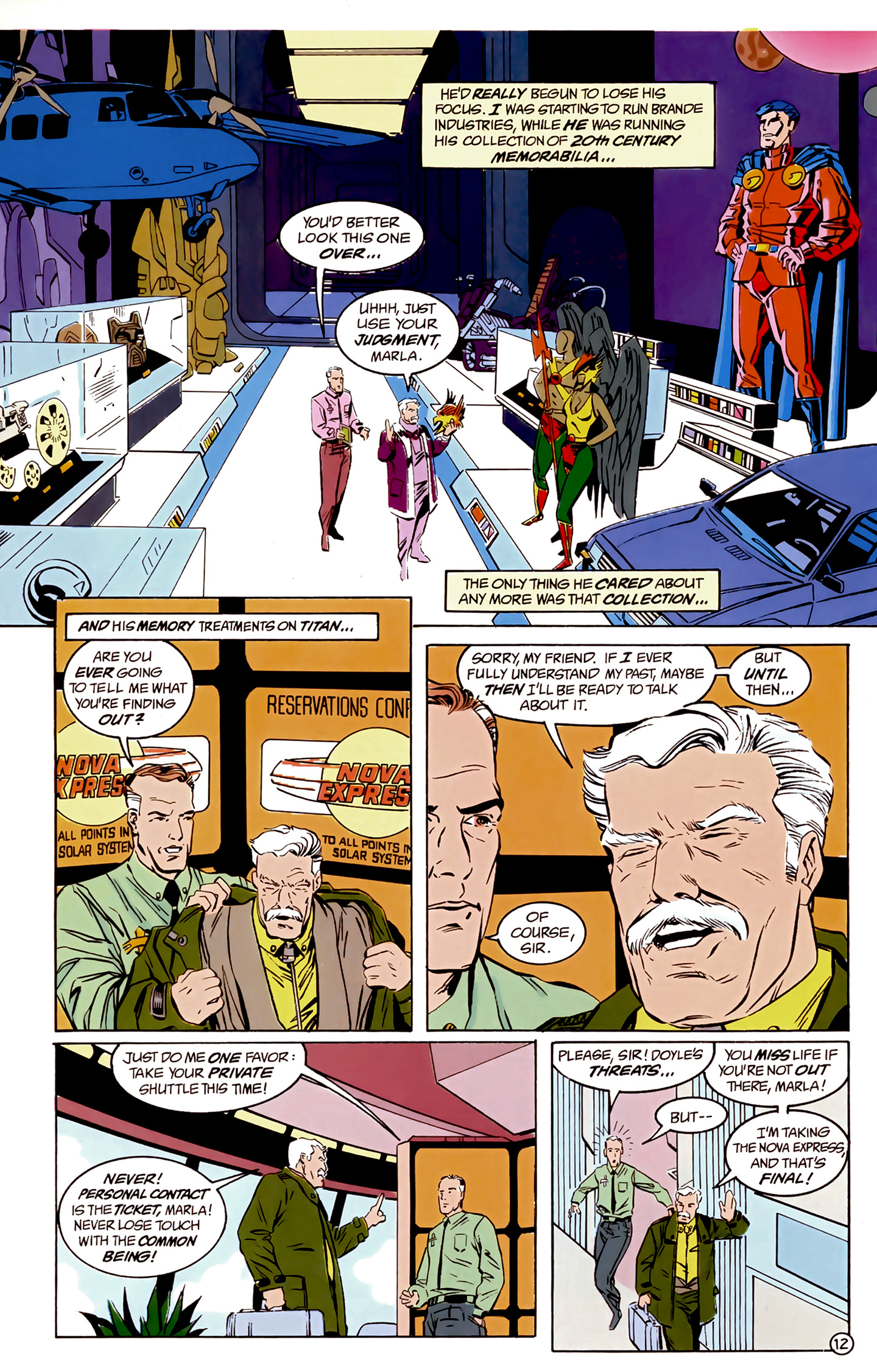 Legion of Super-Heroes (1989) 8 Page 12
