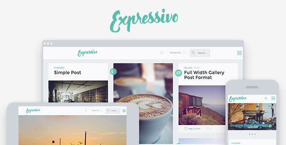 Free Download Expressivo V1.1 Lifestyle Masonry WP Blog Theme