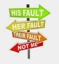 his fault her fault humorous sign post