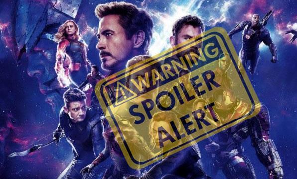 Spoiler Avengers: Endgame (2019)