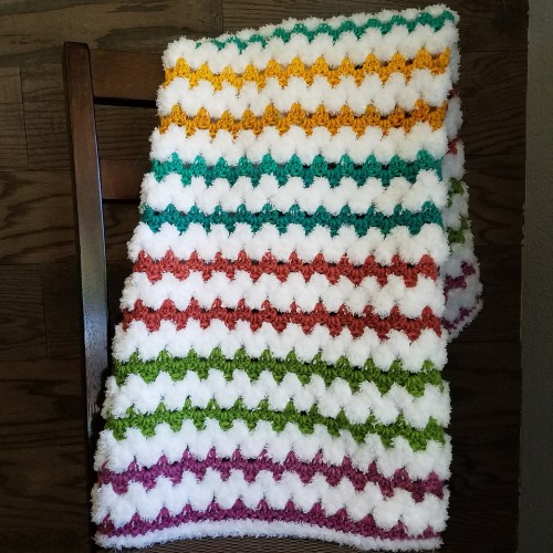 Tributary Baby Blanket - Free Pattern