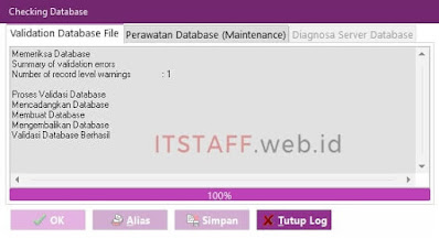 Error Validation File Database EASY6 - ITSTAFF.web.id
