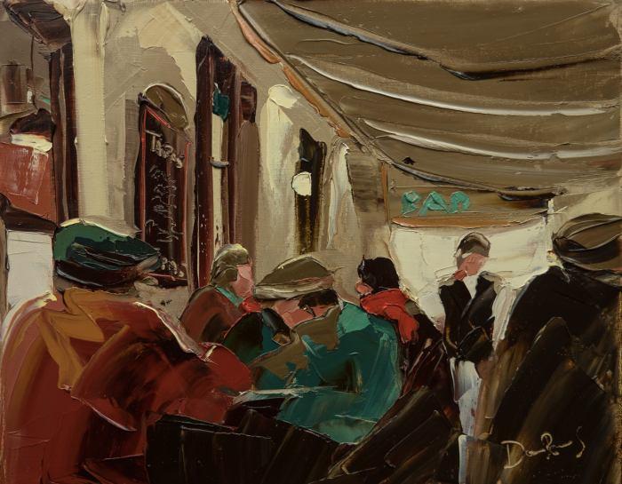 Аргентинский художник. Daniel Rivero Serradell
